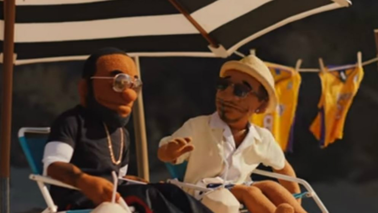 dating commercial with puppet