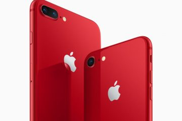 Apple Announces iPhone 8 and 8 Plus (PRODUCT)RED