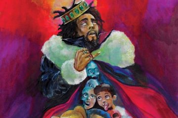 J. Cole -K.O.D. Artwork