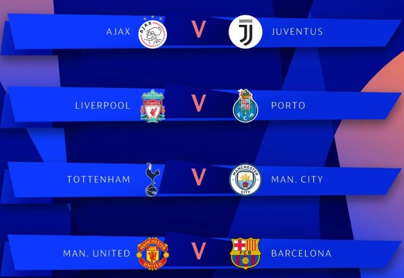 Champions League Draw Update: UEFA Champions League Quarter Finals Draw Results · InThrill