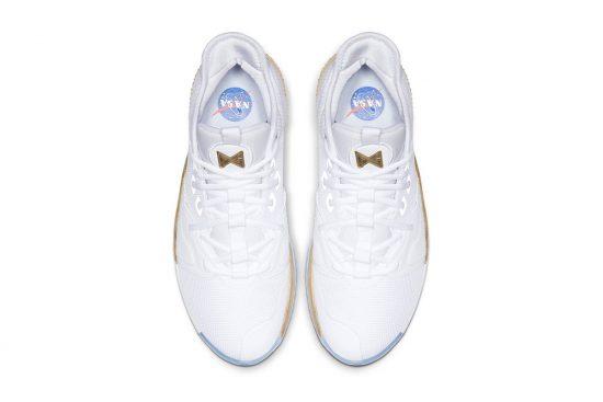 Nike x Paul George NASA White Goal