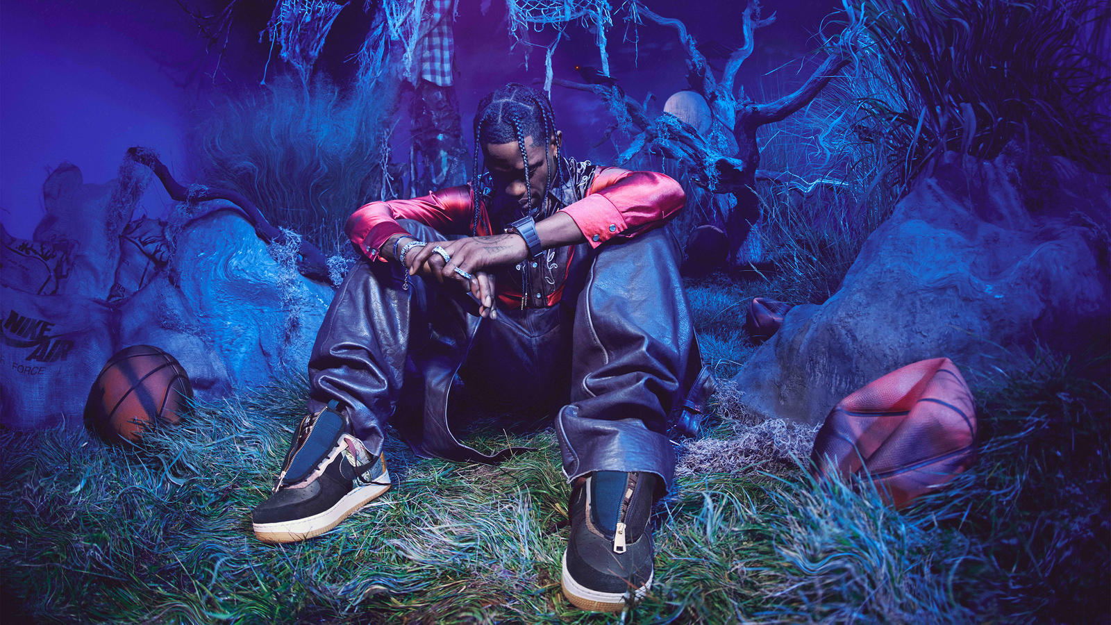 Travis Scott Cactus Jack Nike Air Force 1 Inthrill